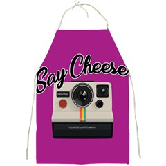 Say Cheese Full Print Aprons