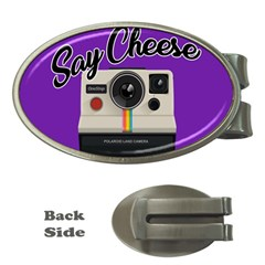 Say Cheese Money Clips (Oval)