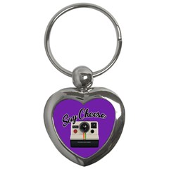 Say Cheese Key Chains (Heart)
