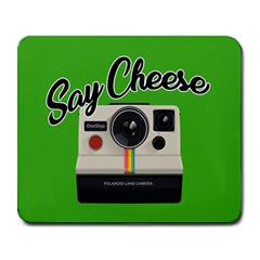 Say Cheese Large Mousepads