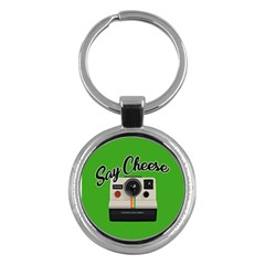 Say Cheese Key Chains (Round)
