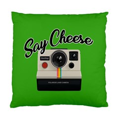 Say Cheese Standard Cushion Case (One Side)