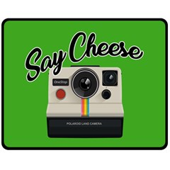 Say Cheese Fleece Blanket (Medium)