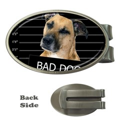 Bed dog Money Clips (Oval)