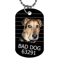 Bed dog Dog Tag (One Side)