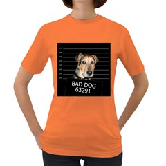 Bed dog Women s Dark T-Shirt
