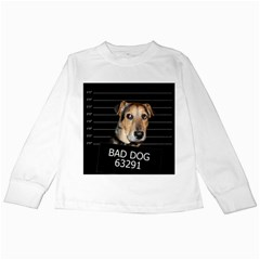 Bed dog Kids Long Sleeve T-Shirts