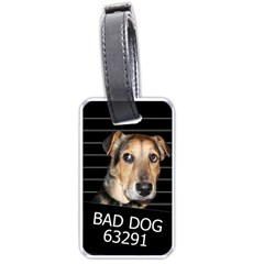 Bed dog Luggage Tags (One Side)