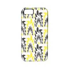 Tricolored Geometric Pattern Apple Iphone 5 Classic Hardshell Case (pc+silicone)