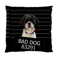 Bad dog Standard Cushion Case (One Side)