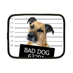 Bad dog Netbook Case (Small)