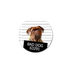 Bad dog Golf Ball Marker