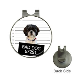 Bad dog Hat Clips with Golf Markers