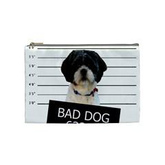 Bad dog Cosmetic Bag (Medium)