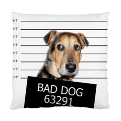 Bad dog Standard Cushion Case (One Side)