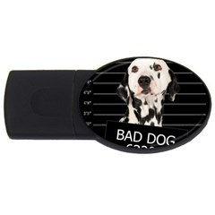 Bad dog USB Flash Drive Oval (4 GB)