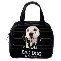 Bad dog Classic Handbags (One Side)