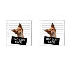 Bad dog Cufflinks (Square)