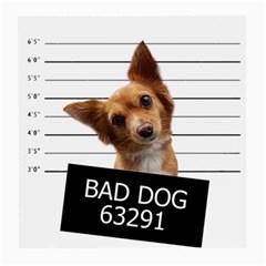 Bad dog Medium Glasses Cloth