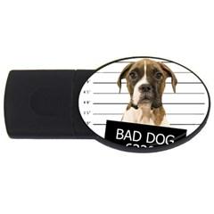 Bad dog USB Flash Drive Oval (2 GB)