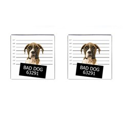 Bad dog Cufflinks (Square)