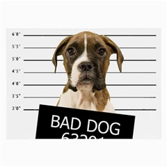 Bad dog Large Glasses Cloth (2-Side)