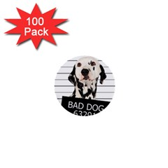 Bad dog 1  Mini Buttons (100 pack)