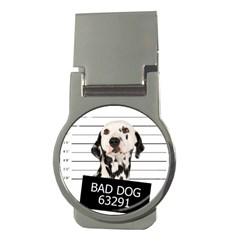Bad dog Money Clips (Round)