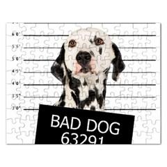 Bad dog Rectangular Jigsaw Puzzl