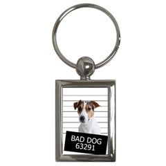 Bad dog Key Chains (Rectangle)