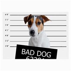Bad dog Large Glasses Cloth (2-Side)