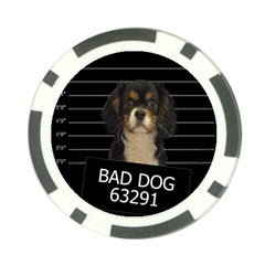 Bad dog Poker Chip Card Guard