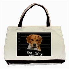Bad dog Basic Tote Bag