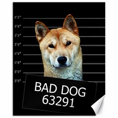 Bad dog Canvas 11  x 14