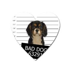 Bad dog Heart Magnet