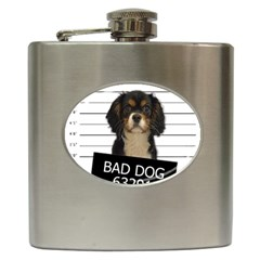 Bad dog Hip Flask (6 oz)