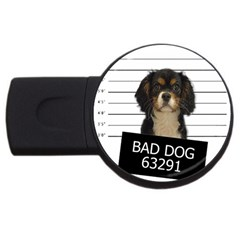 Bad dog USB Flash Drive Round (4 GB)