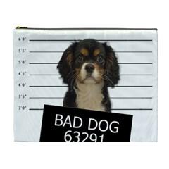 Bad dog Cosmetic Bag (XL)
