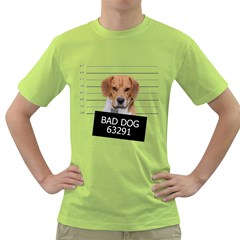 Bad dog Green T-Shirt