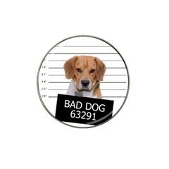 Bad dog Hat Clip Ball Marker (4 pack)