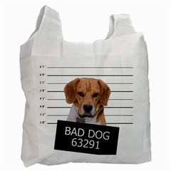 Bad dog Recycle Bag (One Side)