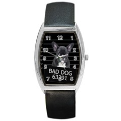 Bad dog Barrel Style Metal Watch