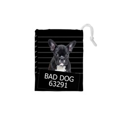 Bad dog Drawstring Pouches (XS)