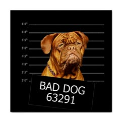 Bad dog Tile Coasters