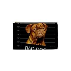 Bad dog Cosmetic Bag (Small)
