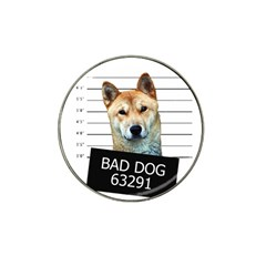 Bad dog Hat Clip Ball Marker