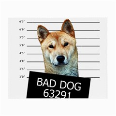 Bad dog Small Glasses Cloth (2-Side)