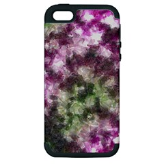Purple green paint texture    Apple iPod Touch 5 Hardshell Case