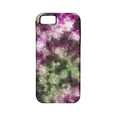 Purple Green Paint Texture    Apple Iphone 4/4s Hardshell Case (pc+silicone)