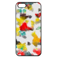 Colorful paint stokes     Apple iPhone 5 Seamless Case (Black)